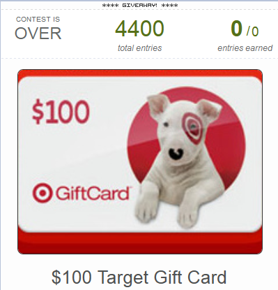 Gift Card Giveaway Promotion